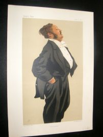 Vanity Fair Print 1876 Lionel Lawson, Business
